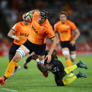Formación de Jaguares para el cierre del Personal Super Rugby