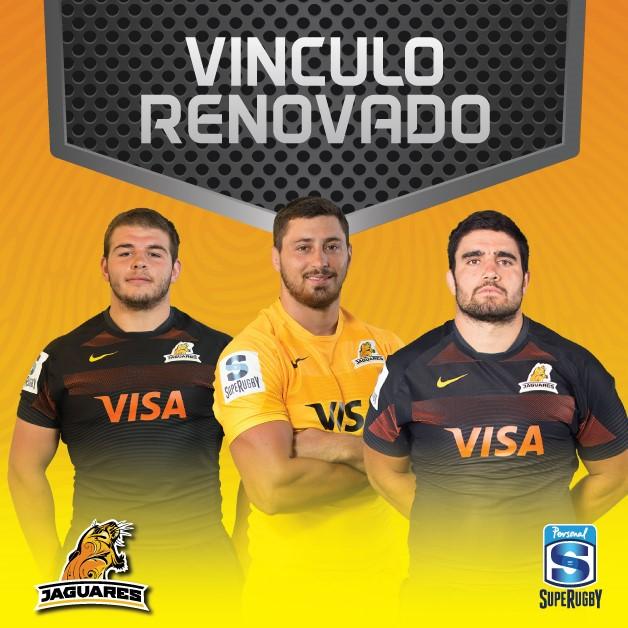 Ortega Desio, Pieretto y Tetaz Chaparro renovaron su vínculo