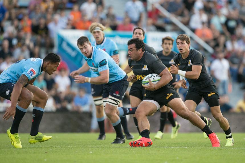 Primer festejo en el Personal Super Rugby